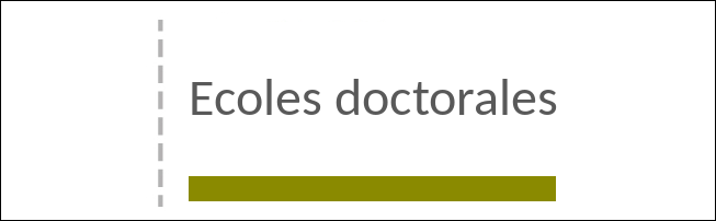 Écoles doctorales