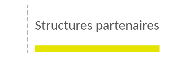 Structures partenaires